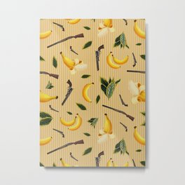 Wild West Gone Bananas! Metal Print