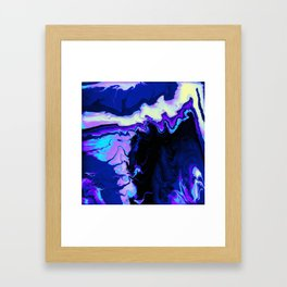 Fluid Astral Reverse Framed Art Print