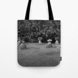 Chamoru Stones of Life - B/W Tote Bag