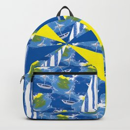 Sailing on Stormy Seas Backpack