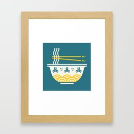Ramen Time Framed Art Print
