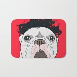 Venice Bulldog Bath Mat