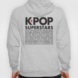 KPOP Superstars Original Boy Groups Merchandse Hoody