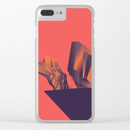 Futuristic Monuments Of Old Yugoslavia Clear iPhone Case
