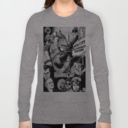 'Robocop 1987' Retro Style Movie Poster Long Sleeve T-shirt