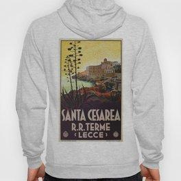Vintage Italian travel Santa Cesarea Terme Lecce Hoody