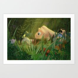 Tiny Friend Art Print