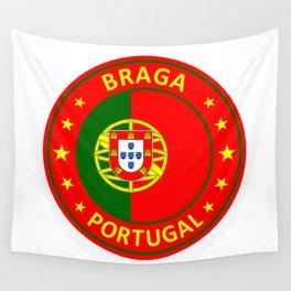 Braga, Portugal Wall Tapestry