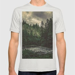 Pacific Northwest River - Nature Photography T-shirt