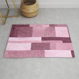 Pink Squared Rug
