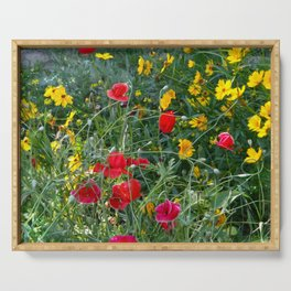 Wildflower Meadow Serving Tray