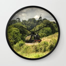 Great Western Green  Wall Clock