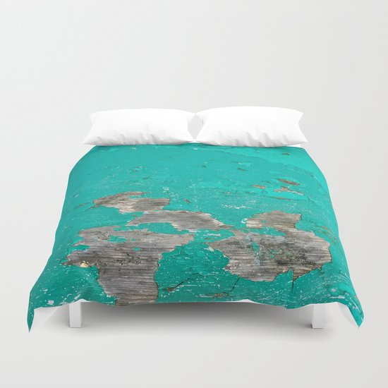 Blue Vintage Duvet Cover