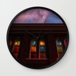 Sunset at the Ryman Wall Clock