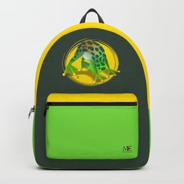 Yoga Downward Facing Frog Backpack