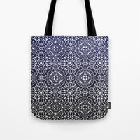 wallpaper Tote Bags featuring Wallpaper by MinaSparklina