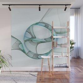 Minimalist Abstract, Fractals Art Wall Mural
