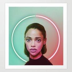 Full Circle Art Print