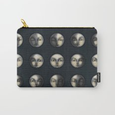 moon phases and textured darkness Carry-All Pouch