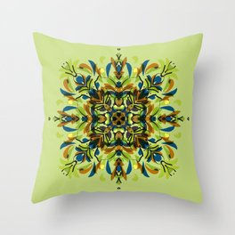 Abstract forest 1 Throw Pillow