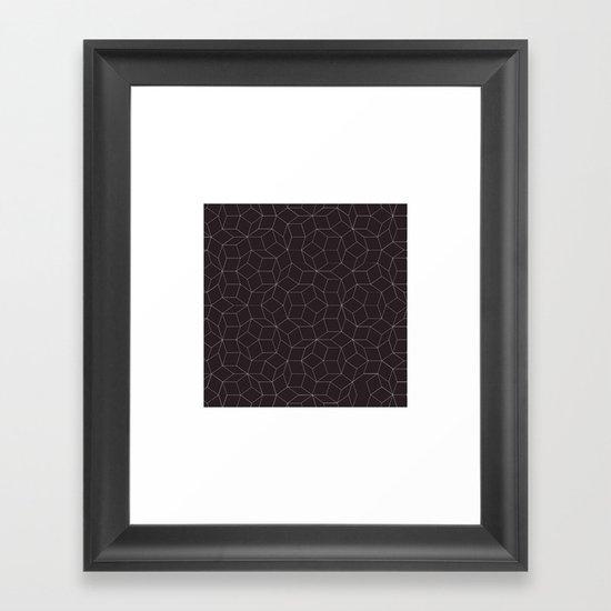 #41 Hello Mr Penrose, I'm your biggest fan. – Geometry Daily Framed Art Print