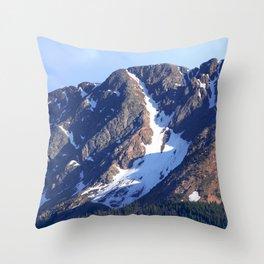 Twilight Peaks in the San Juan Moutain Range Throw Pillow