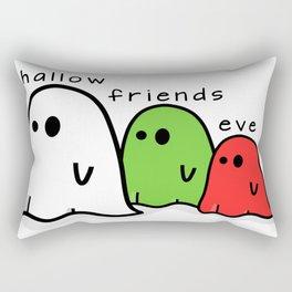 Hallow Friends Eve_Ghosts Rectangular Pillow