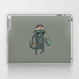 "Raccoon wearing human ""hat"" Laptop & iPad Skin"