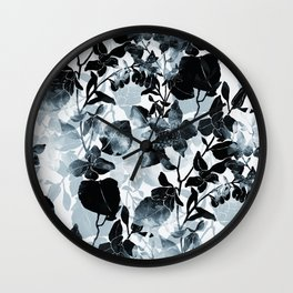 imprints abstract bouquet Wall Clock