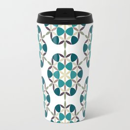 Flower of life tile Travel Mug