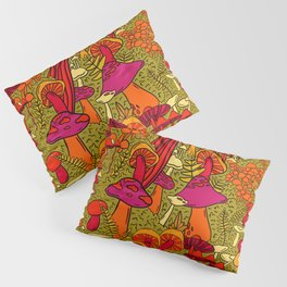 Mushrooms in the Forest Pillow Sham