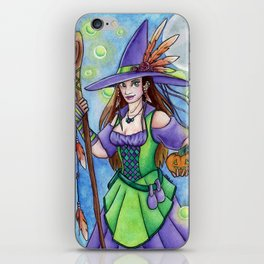 Witch Lights iPhone Skin