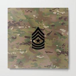 Sergeant Major (Camo) Metal Print