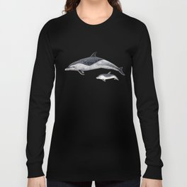 Pantropical spotted dolphin Long Sleeve T-shirt
