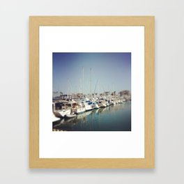 Dana Point Marina Framed Art Print
