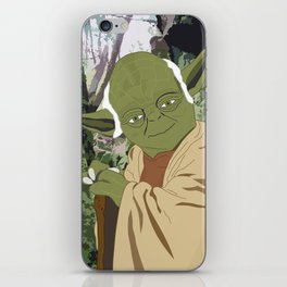 Yoda (Vector Art) iPhone Skin