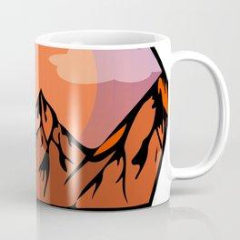 Flat sunrise Coffee Mug