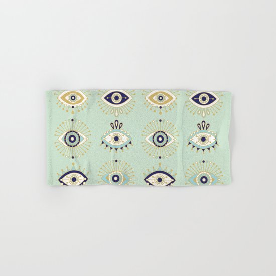 Evil Eye Collection Hand & Bath Towel
