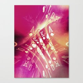 Pink Flush Canvas Print