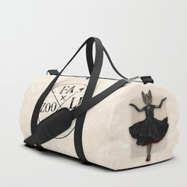 Twirling, Twirling, Couture Kitty Duffle Bag