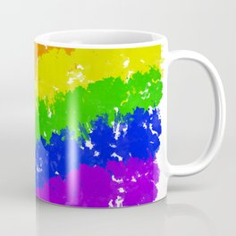 Splatter YOUR Colors - Gay Pride Coffee Mug