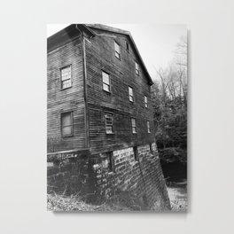 Old mill Metal Print