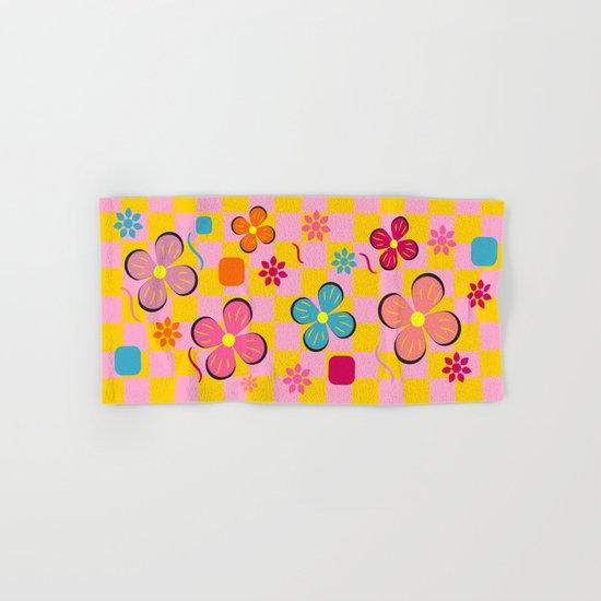 Floral joy in June Hand & Bath Towel