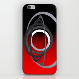 turns of metal -02- iPhone Skin