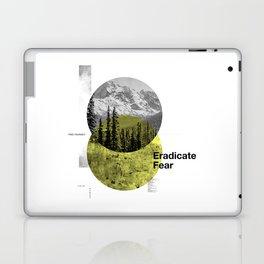 Eradicate Fear Laptop & iPad Skin