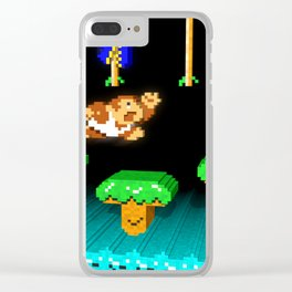 Inside Donkey Kong Junior Clear iPhone Case