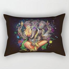 Colorful Ganesh Rectangular Pillow