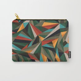 Sliced Fragments II Carry-All Pouch