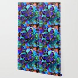 Butterfly Blues Wallpaper