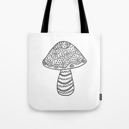 A Single Mushroom (1) Tote Bag